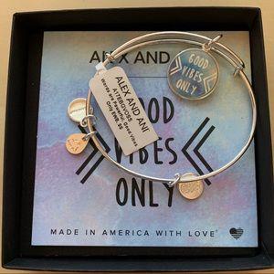 Alex and Ani Good Vibes Only Bracelet
